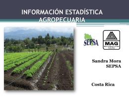 Información Estadística Agropecuaria