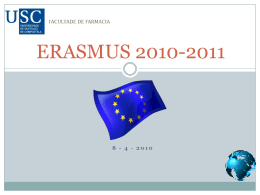 ERASMUS 2010-2011