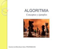 ALGORITMIA Y MAPAS MENTALES