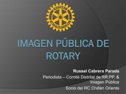 Russel Cabrera – Imagen Pública