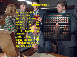 codigo enigma presentacion norma