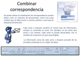 017 Combinacion de Correspondencia