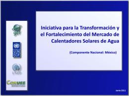 Iniciativa para la Transformación y el Fortalecimiento del