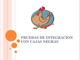 PRUEBAS DE INTEGRACION C.2