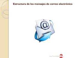 5.- Estructura de los mensajes de correo electrónico