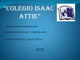 Descargar Archivo... - WEB Colegio Isaac Attie