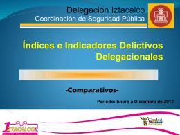 2 - Delegación Iztacalco - Gobierno del Distrito Federal