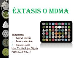 Éxtasis o MDMA (3063135)