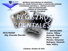 Registros Dentales Diapo (969499)