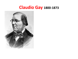 Claudio Gay 1800-1873