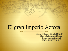 presentacion aztecas