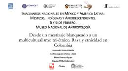 Imaginarios nacionales en México y América Latina