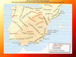 La Península Ibérica desde el primer milenio antes de Cristo hasta