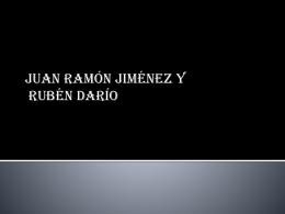 JUAN RAMÓN JIMÉNEZ Y RUBÉN DARÍO (184737)