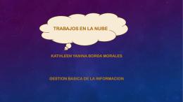 KATHLEEN YANINA BORDA MORALES GESTION BASICA DE LA