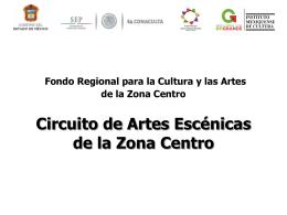 Pptx - Consejo Nacional para la Cultura y las Artes