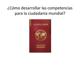 Cómo desarrollar las competencias para la ciudadanía