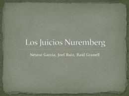 Los Juicios Nuremberg