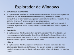 explorador de windows