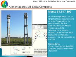 Proveedores - Cooperativa Eléctrica de Bolívar Ltda.