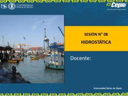 HIDROSTATICA - Blogs de Docentes USS
