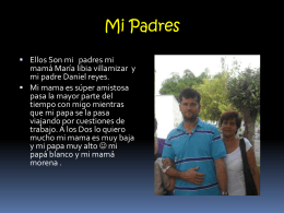 Mi Padres - WordPress.com