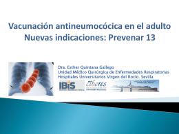 importancia y carga de la enfermedad neumococica en el adulto