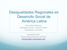 Place matters: spatial inequality in Latin America