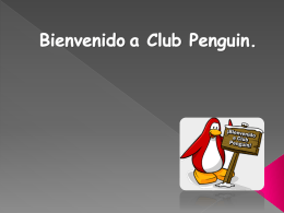 Bienvenido a Club Penguin
