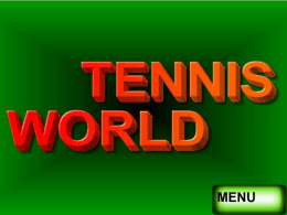 presentacion de tennis world