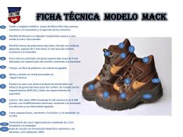 FICHA TEC. MACK