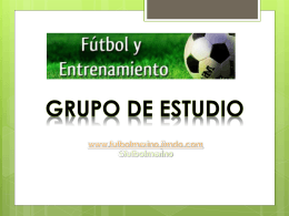 LA PERIODIZACION TACTICA - Fútbol Merino.