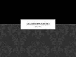 Grammar book part 2 Preterites Spock verb: Hacer Dar