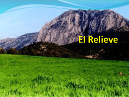El Relieve - WordPress.com