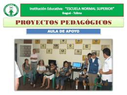 AULA DE APOYO