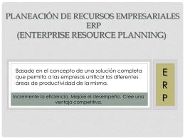 ERP - iegamarmediatecnica