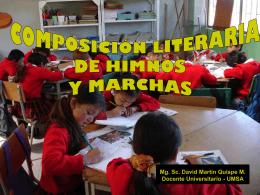 COMPOSICION DE HIMNOS (415897)
