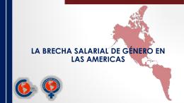 La brecha salarial de género en las americas INDICE