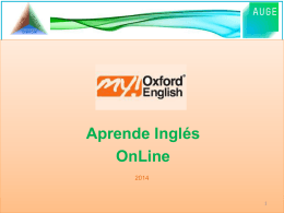 YA TIENEN ACCESO A MY OXFORD ENGLISH
