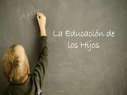14 La Educación de los Hijos