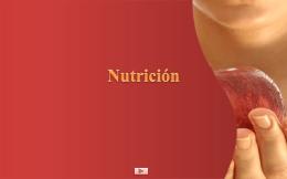 Presentación de nutricion