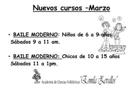 Nuevos cursos * Febrero - Esmila Zevallos ::: Academia de Danzas
