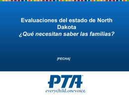 Evaluaciones del estado de North Dakota