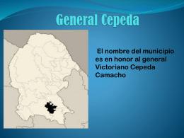 General Cepeda - BENCASIGNATURAREGIONAL