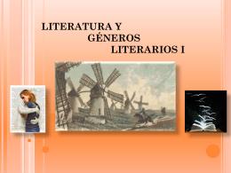 Literatura y Géneros Literarios - Preuniversitario Derecho a la U