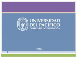 Enrique Vásquez - Universidad del Pacífico