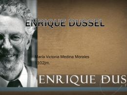 ENRIQUE DUSSEL.