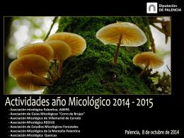 Apertura año micológico 2014