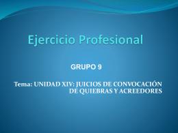 Ejercicio Profesional - CLASES DE CONTABILIDAD Y AUDITORIA