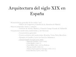 Arquitectura del siglo XIX en España